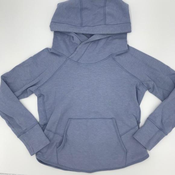 LULULEMON | light blue/periwinkle pullover hoodie